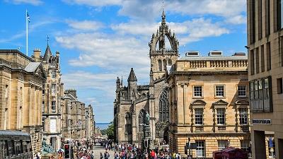Edinburgh ローランド地方エディンバラ