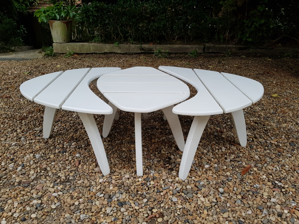 Table basse Triconfort vers 1960