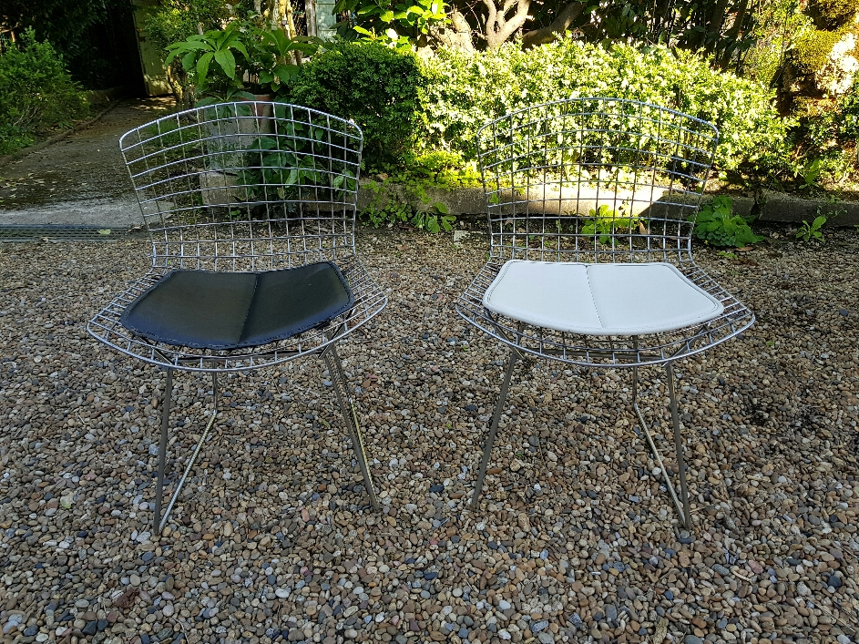 Harry Bertoia paire de Chaises édition Knoll International