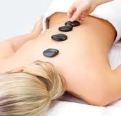 massage pierres chaudes, relaxant