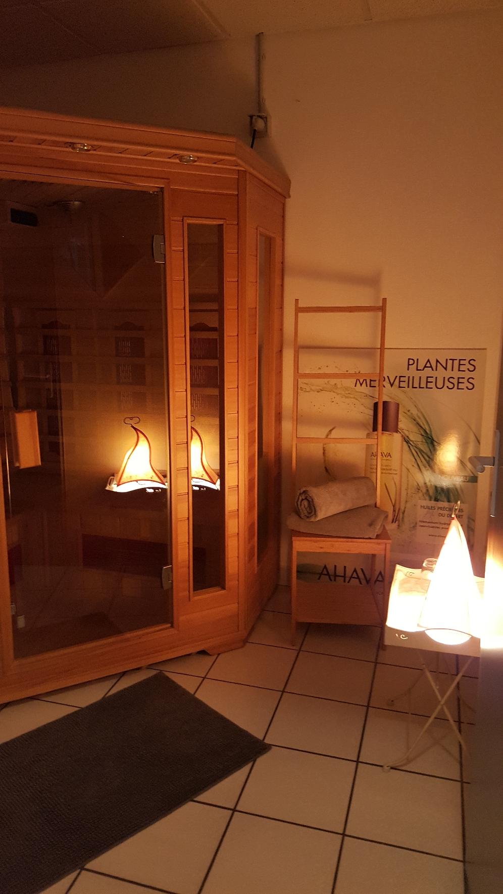 Sauna à l'institut Rêve de Soie à CEYZERIAT
