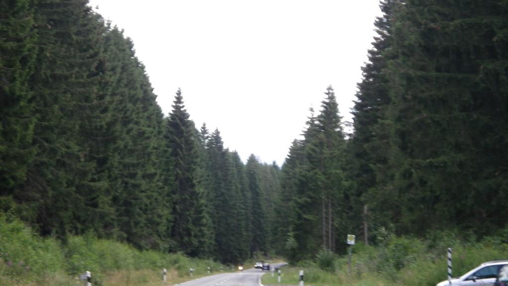 An der Okertalsperre vorbei, über Vienenburg, an dem Mann mit dem Hammer vorbei wieder Heim.