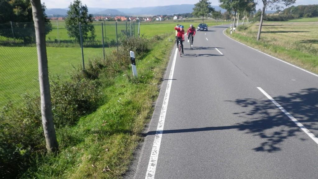 ...mit Wind zurück über Immenrode, Weddingen, Schladen,Hornburg.