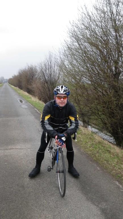 ..auf zu den letzten 10km...Ziel nach 2h erreicht.Km-Stand:180.