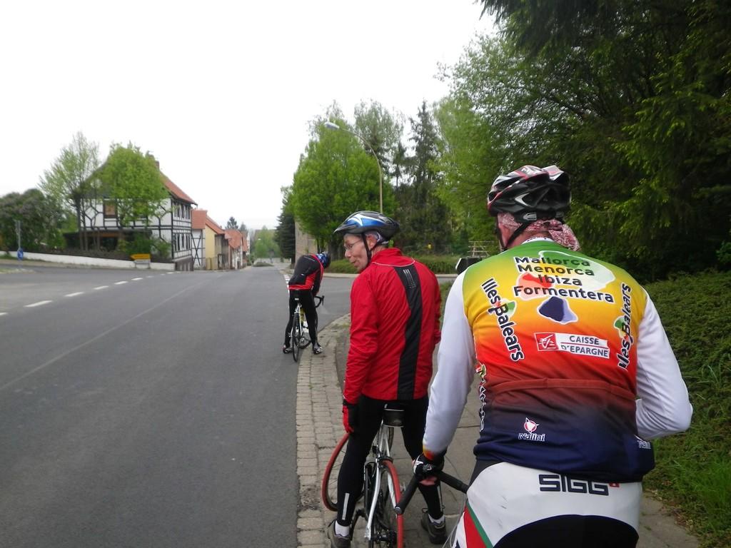 ...weiter über Jerxheim Bahnhof die Serpentinen rauf...