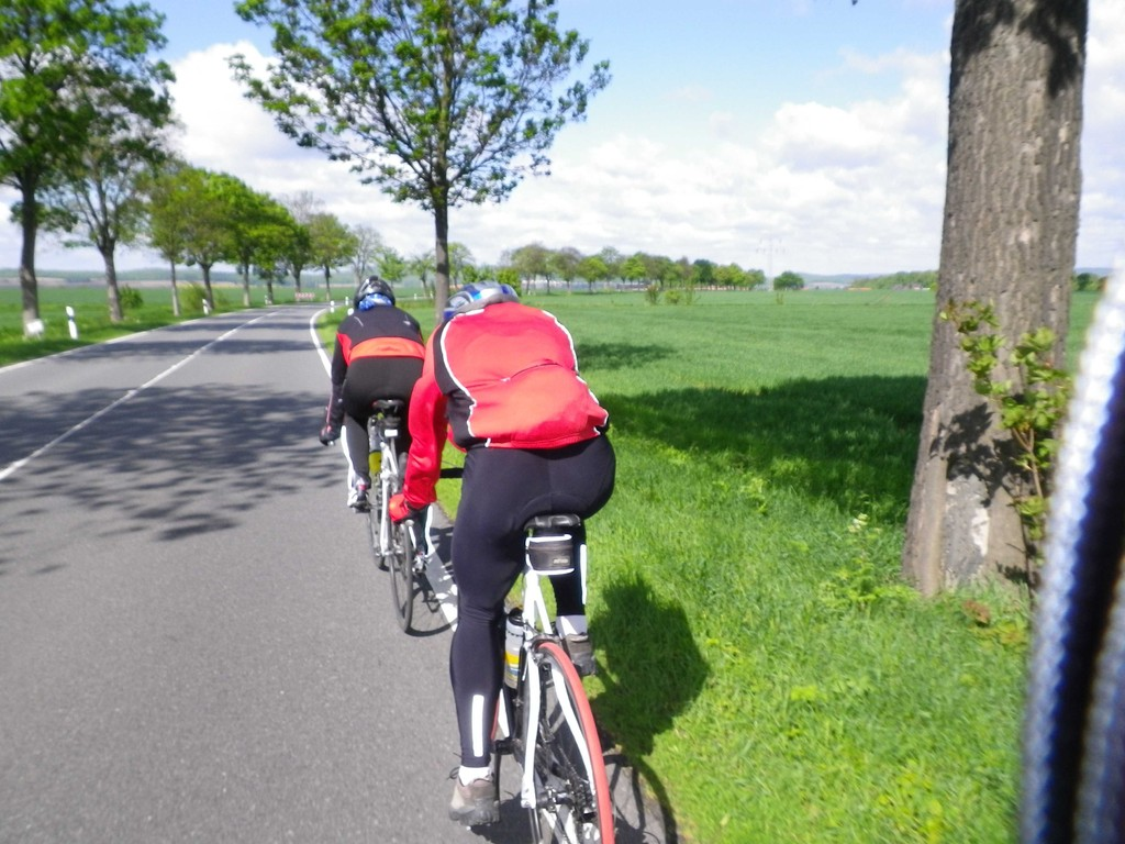 Erst gegen den Wind über Schladen,Liebenburg nach Othfresen.