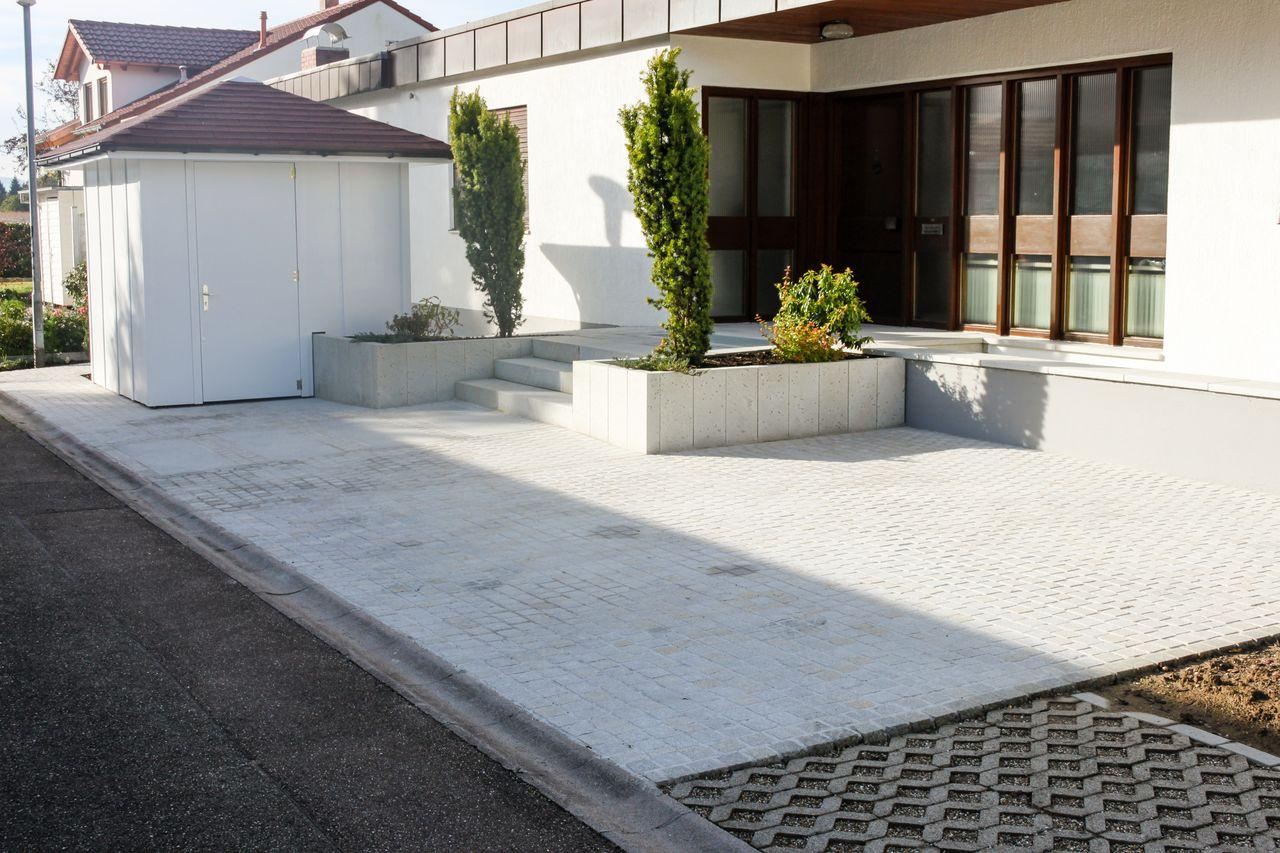 Hauszugange Und Einfahrten Bocherer Gartenbau