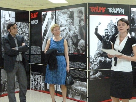 Opening of Solidarnosc Exhibition, Madrid, May 2011