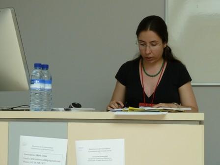 Cristina González, 18th Congress of Europeanist, Barcelona 2011