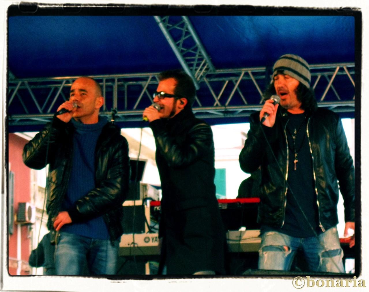 Gigi, Nicola, Gino