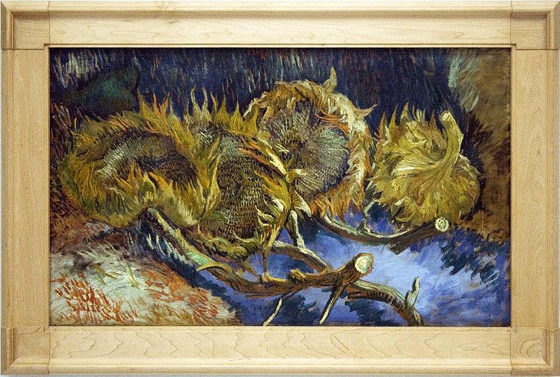 Quattro girasoli appassiti (Parigi, agosto-settembre 1887). Kröller-Müller Museum, Otterlo, Olanda.
