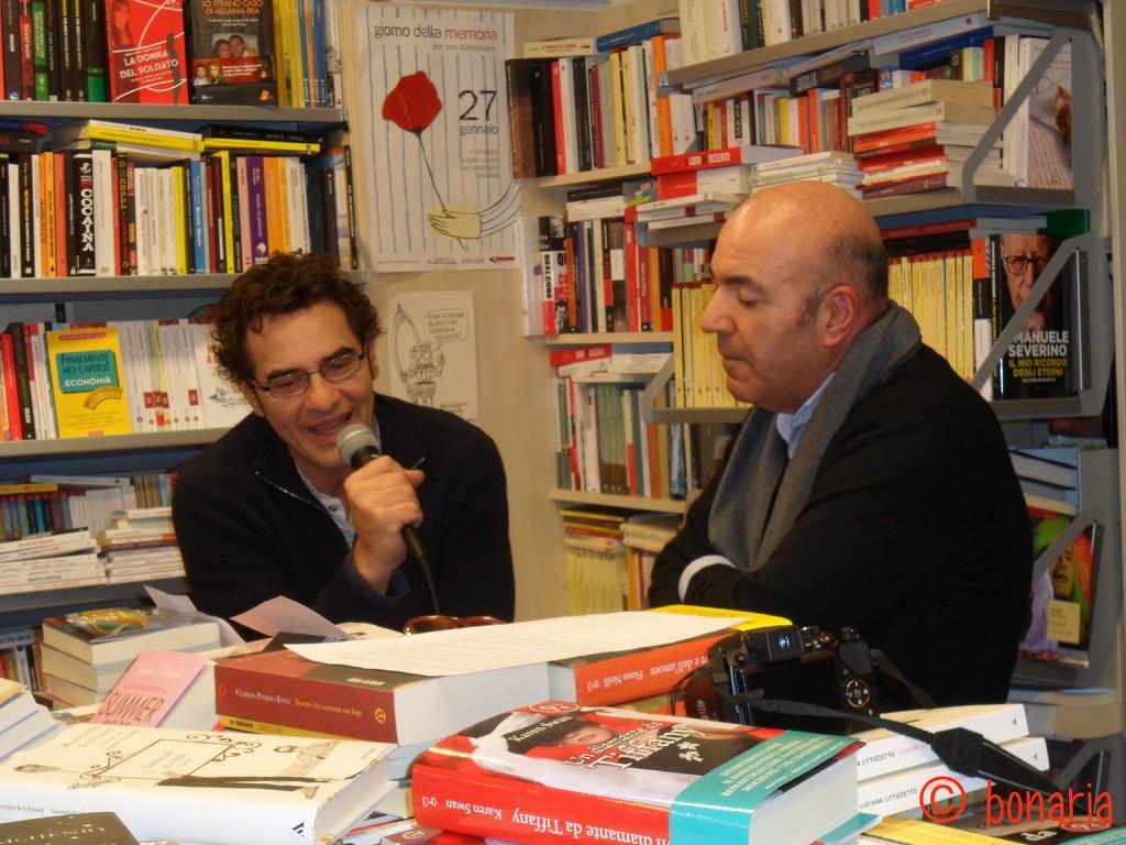 """01.01.12 Baccini presenta il suo cd """"Baccini canta Tenco"""" insieme a Paolo Zicconi"""