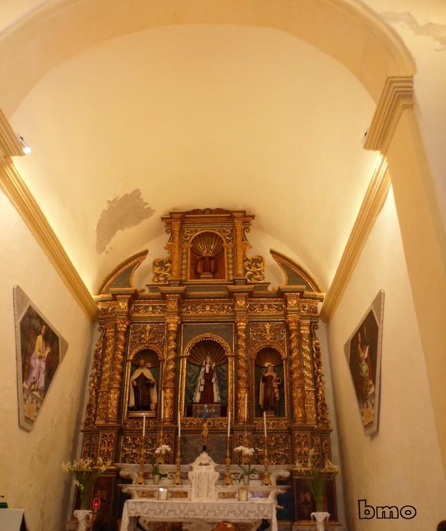 Chiesa del Carmelo - Interni