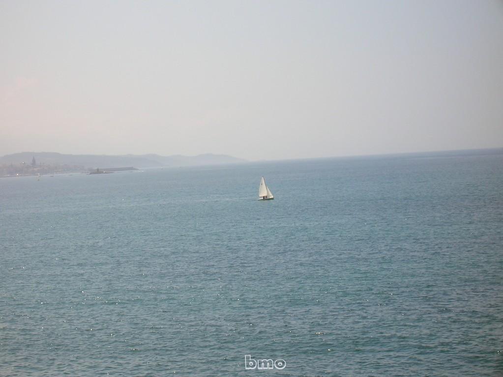 Vista sul mare verso Alghero