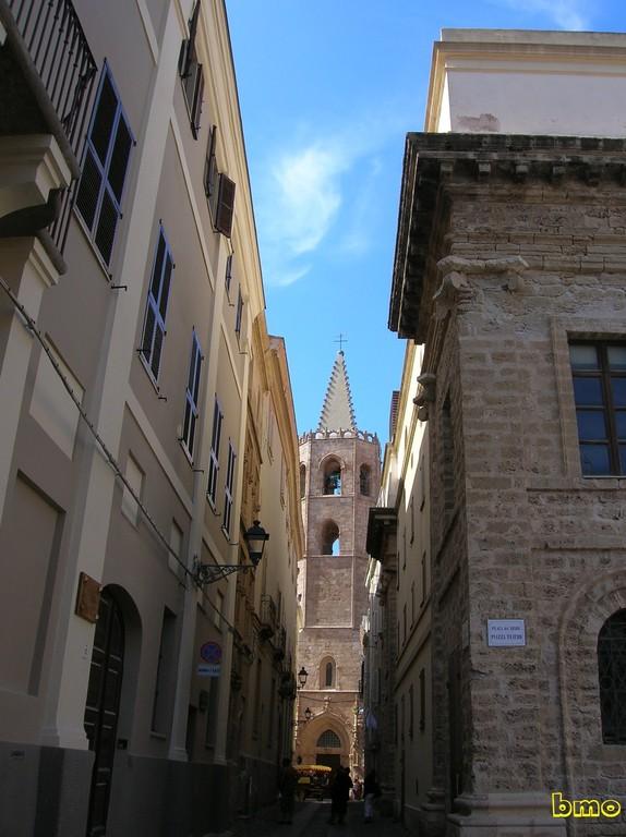 Veduta del Campanile di Santa Maria