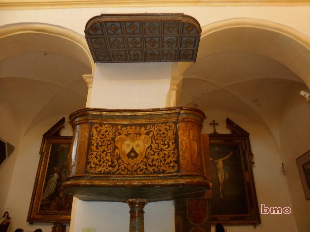 Chiesa del Carmelo - Pulpito