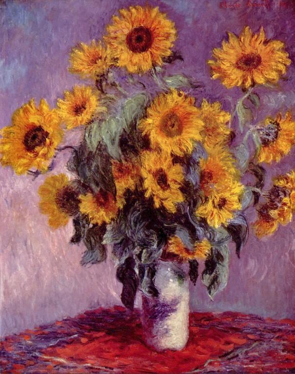 Claude Monet - Girasoli