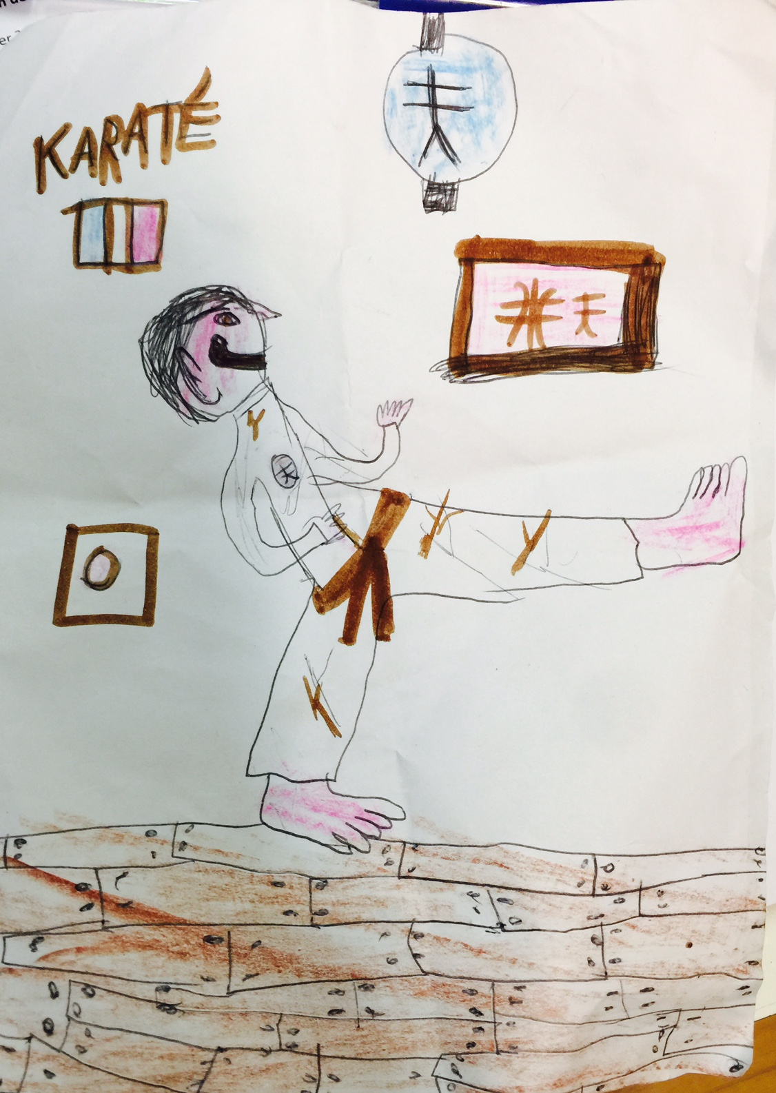 Yassine, 8 ans