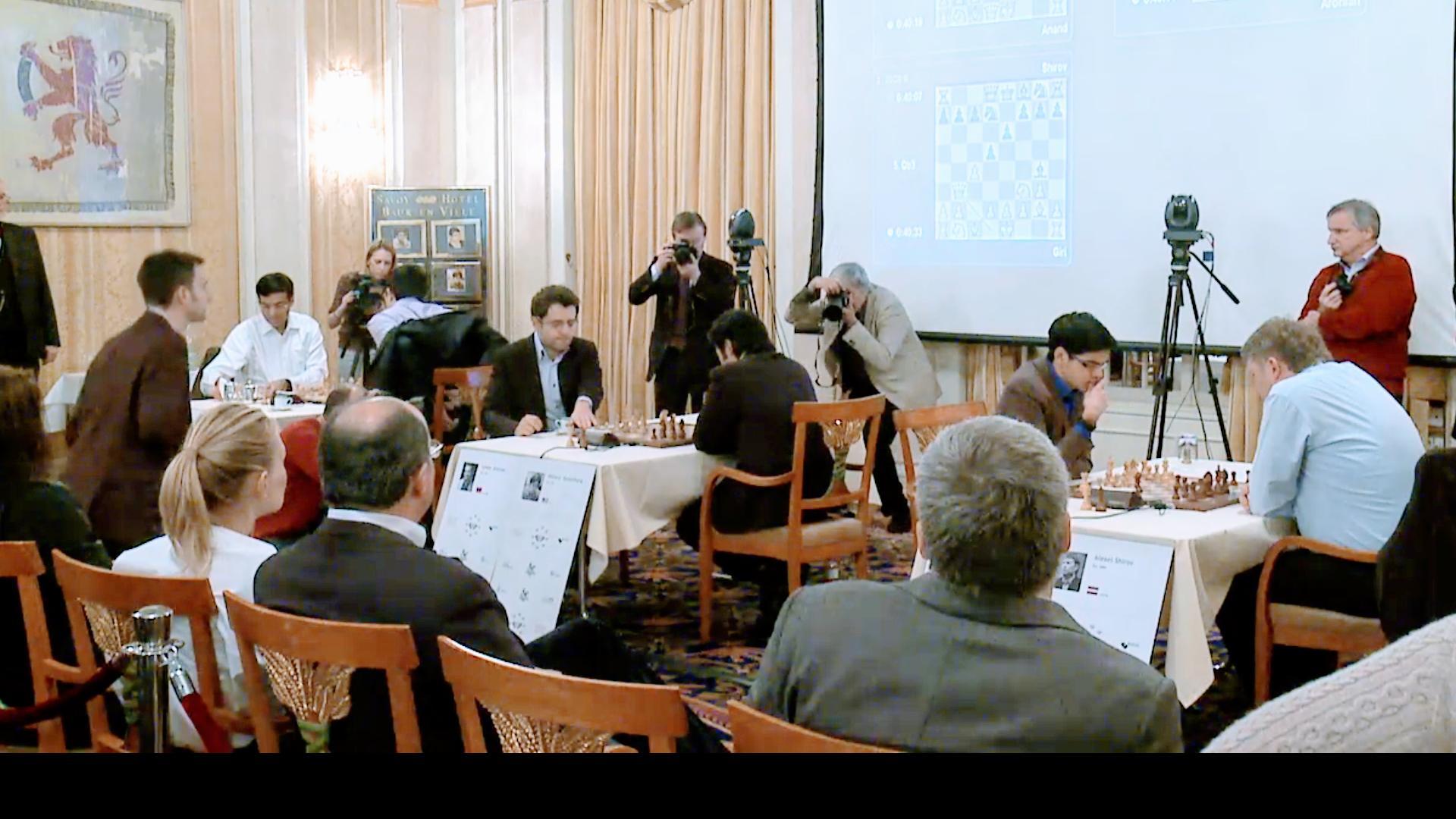 Zürich - 2016 - Andand, Kramnik, Aronjan, Nakamura, Giri, Schirow - Zürich Chess Challenge