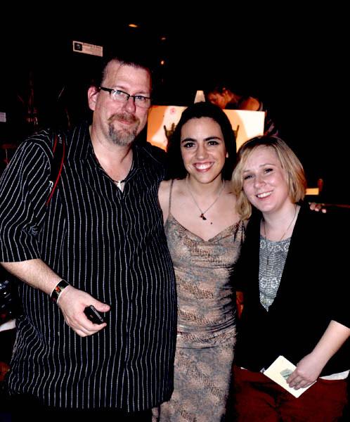 K. Reece, Joana Esteves & friend