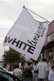 White Linen Night Banner
