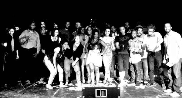 RAW Showcase Group Photo - B&W