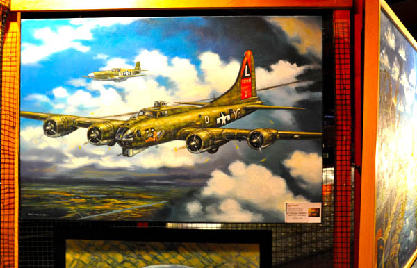 """B-17G Flying Fortress"" original on display"