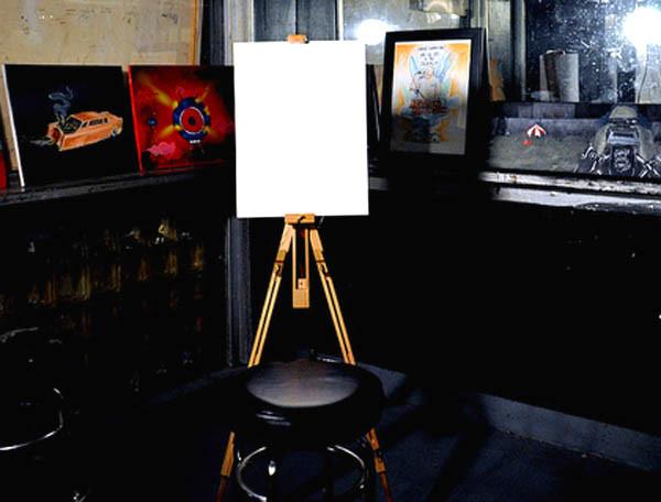 Joseph Walker - blank canvas
