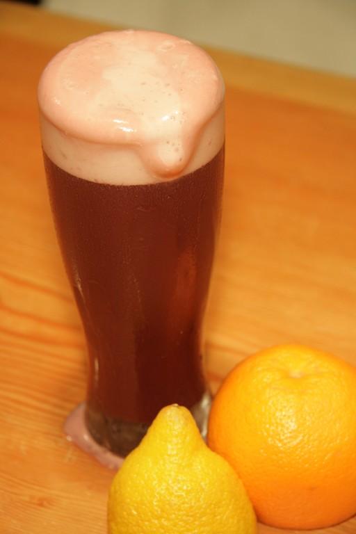 サングリアとビールの素敵な組み合わせティオペペ・カリムーチョはサッパリとして飲み易いですよ
