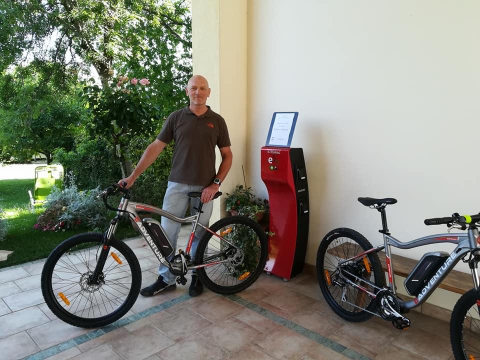 Punto Service Colonnina di ricarica Gratuita per e-bike Maser (TV)