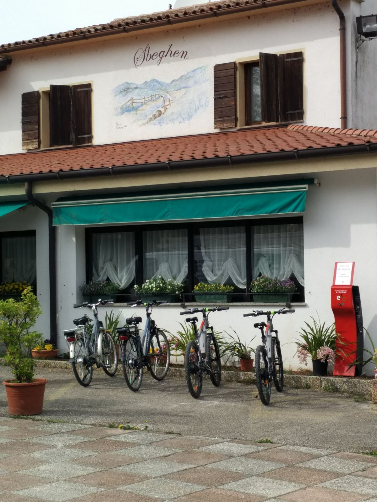 Punto Service,Sbeghen ristorante e-bike