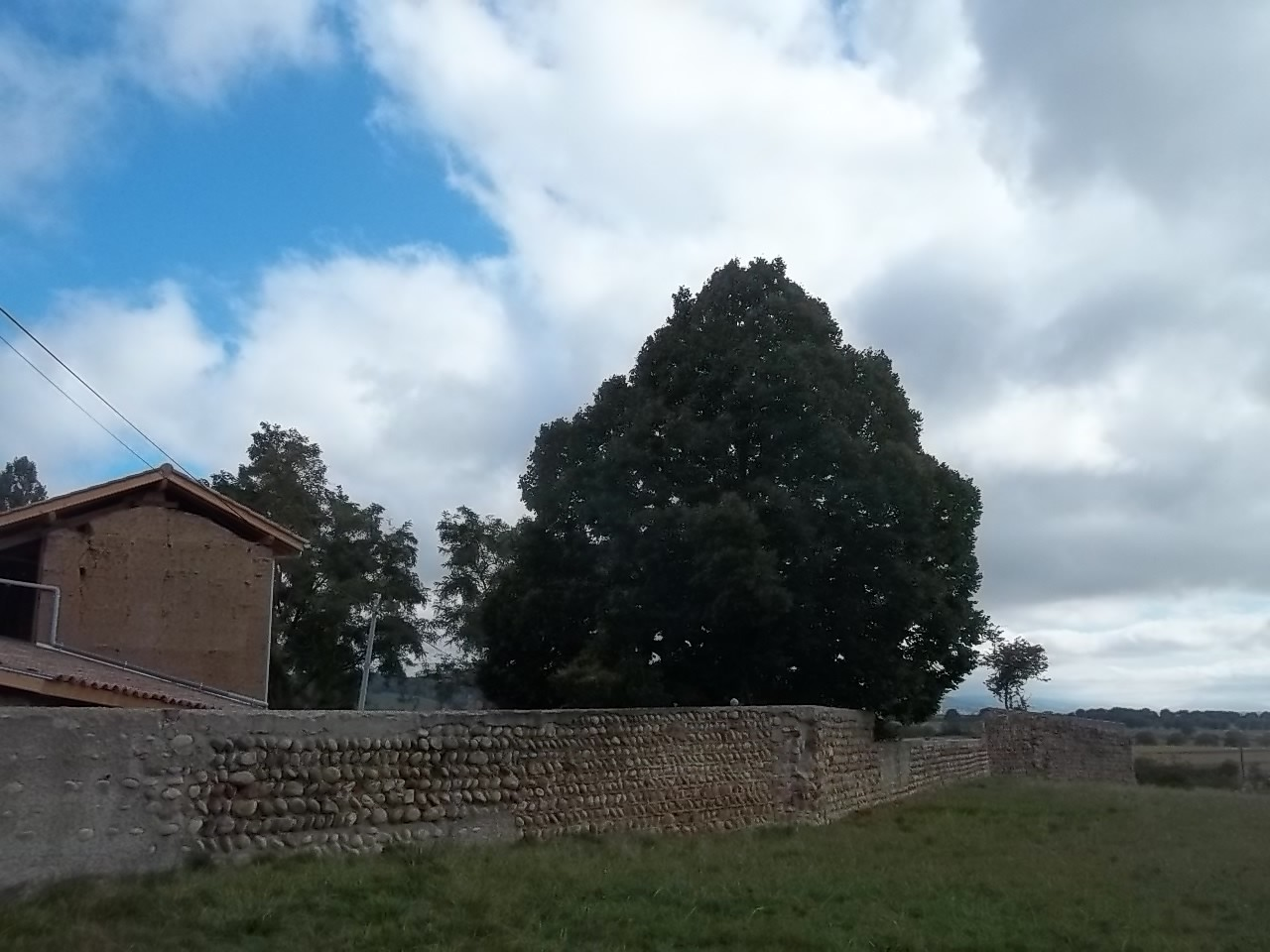 Emplacement de l'ancien château aujourd'hui disparu
