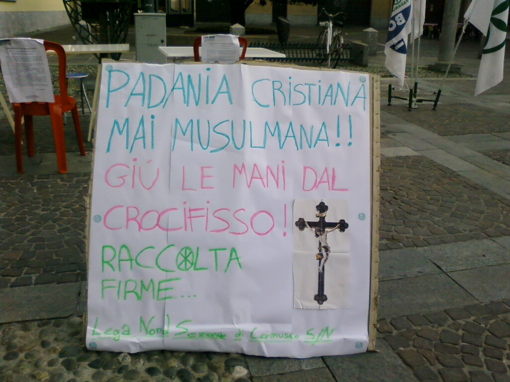 possibile utilizzo del Crocifisso per nobili motivi di Carità Cristiana