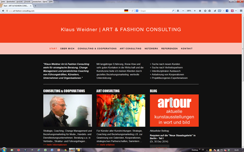 Art-Fashion-Consulting Klaus Weidner | Esslingen, Berlin