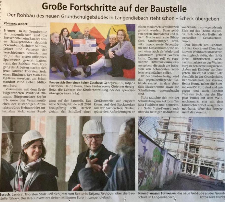 Hanauer Anzeiger vom 29.01.2019