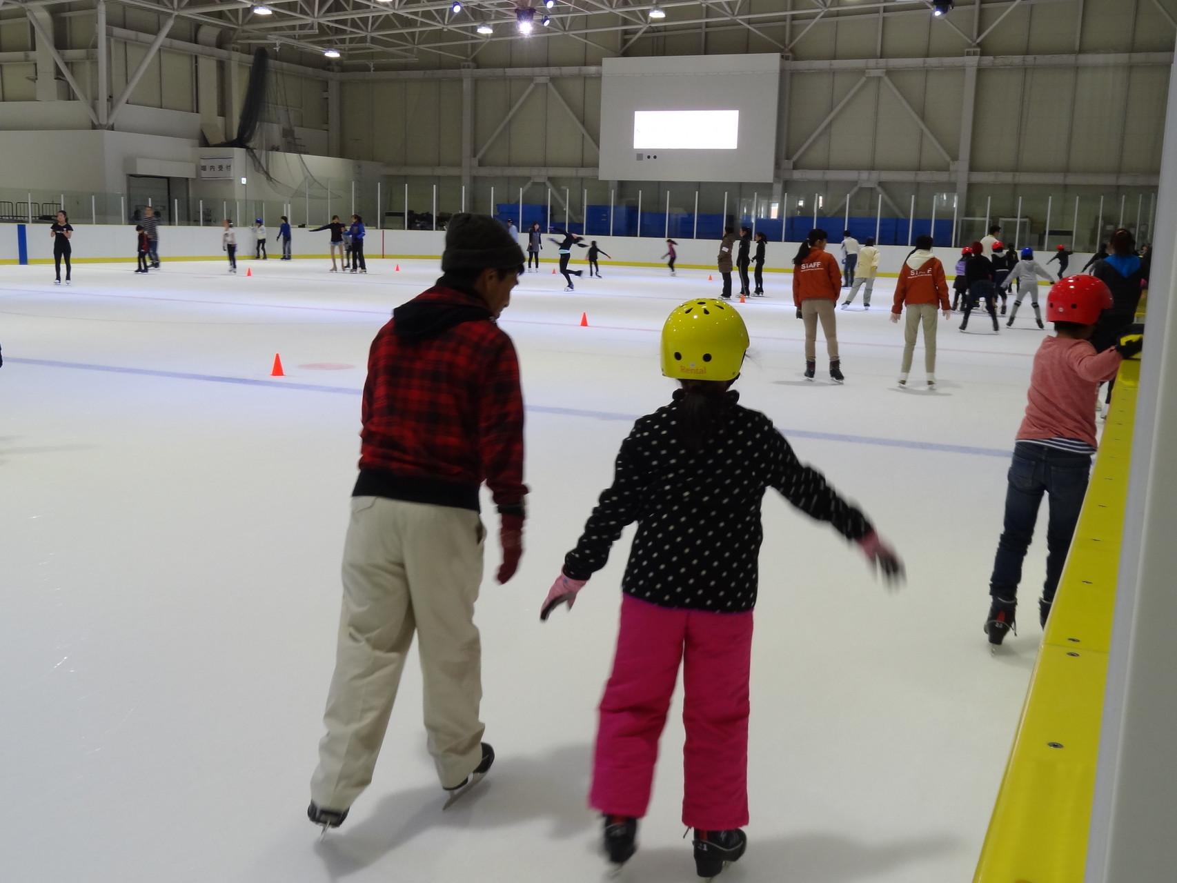 初めてのスケート