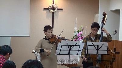 バイオリン&チェロ
