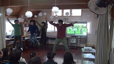 中高科(+おじさん)のダンス