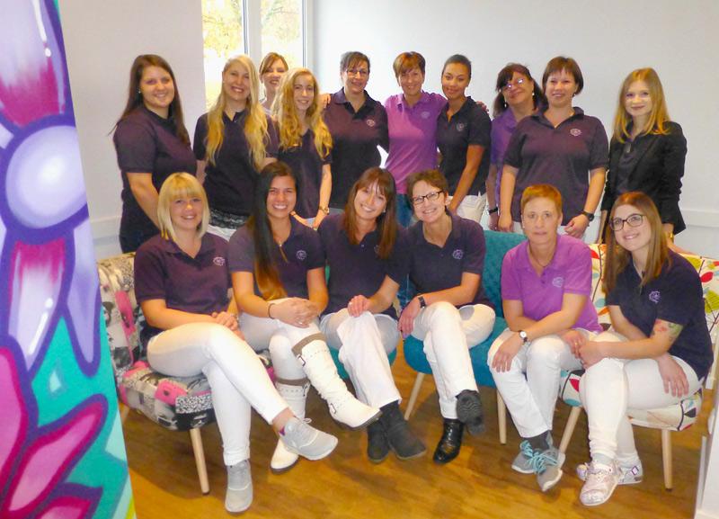 Praxisteam der Frauenärzte vom Bruderwald in Bamberg