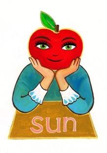 日曜日のアップルさん