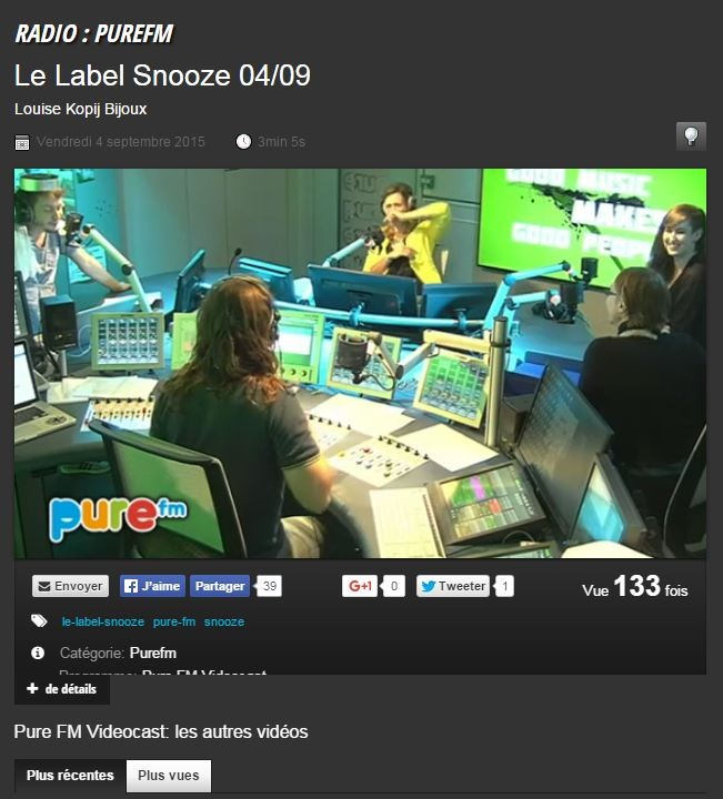 Label Snooze || septembre 2015 || http://www.rtbf.be/video/detail_le-label-snooze-04-09?id=2040719
