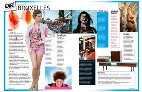 article dans le magazine Gael du 24 juillet 2013