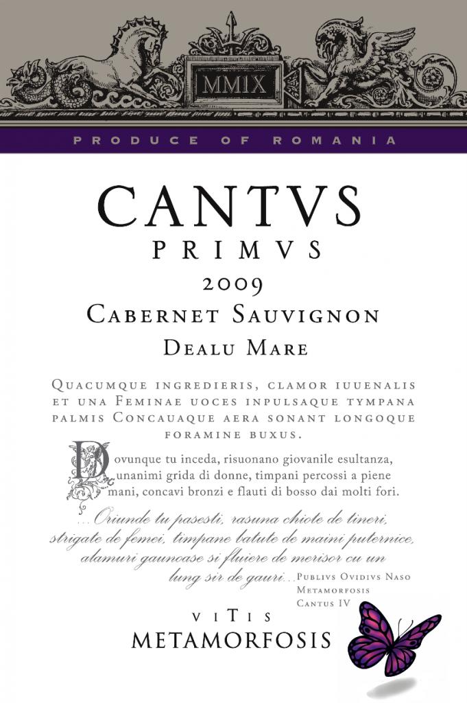Cantvs Primvs Cabernet Sauvignion 2009