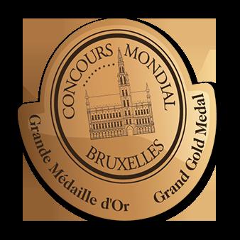 Jahrgang 2015:  Goldmedaille, Concours Mondial de Bruxelles 2016