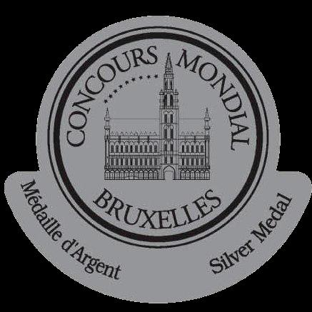Silbermedaille, Concours Mondial de Bruxelles 2016