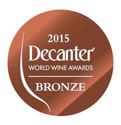 Jahrgang 2012: Bronzemedaille, Decanter World Wine Awards 2015