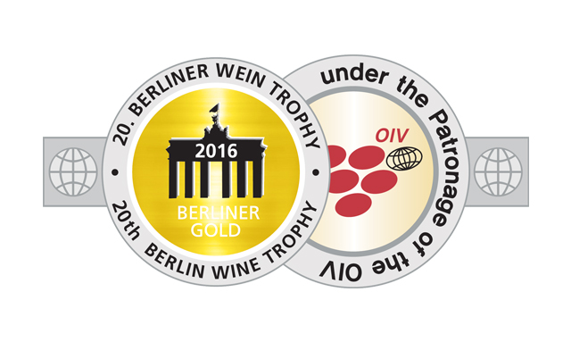 Goldmedaille, Berlin Wine Trophy 2016 (Juli)