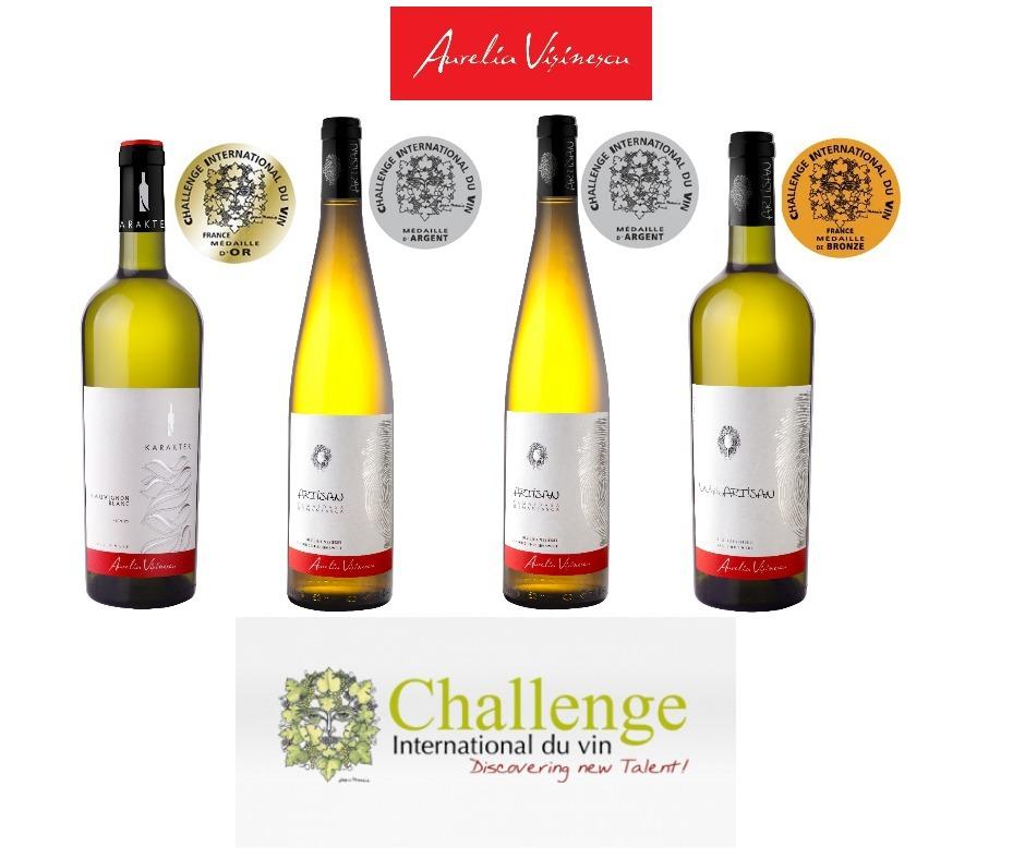 2018 | Silbermedaille bei Le Challenge International du Vin
