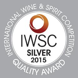 Prämiert mit Silber-Medaille beim Hong Kong IWSC 2015, Asiens größtem Weinwettbewerb.