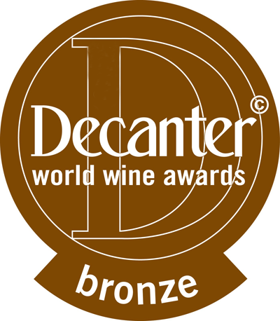 Jahrgang 2013: Bronzemedaille, Decanter 2015